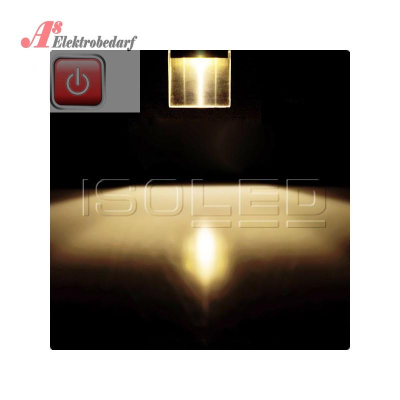 iso111610 led einbauleuchte rechteckig ip44 edelstahl. Black Bedroom Furniture Sets. Home Design Ideas