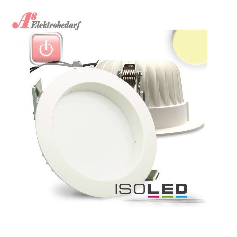iso111641 led downlight 16w diffusor weiss warmweiss dimmbar 9009377012310 as. Black Bedroom Furniture Sets. Home Design Ideas