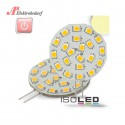 ISO111979 / G4 LED 21SMD, 3W, warmweiss, Pin seitlich /...